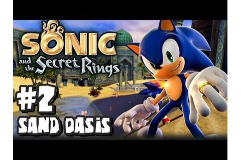 Sonic and the Secret Rings Wii - (1080p) Part 2 - Sand ...