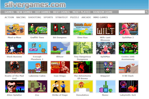 5 Websites to Play Free 8 Bit Games Online