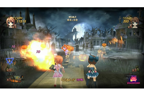 Zombie Panic in Wonderland (WiiWare) Screenshots