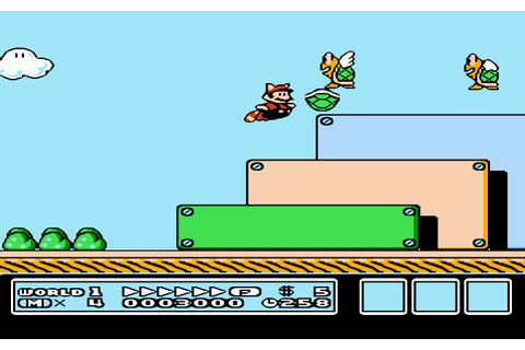 Super Mario Bros. 3 (USA) (Rev A) ROM