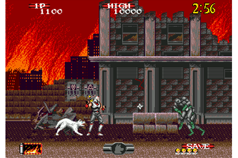 Play Shadow Dancer - The Secret of Shinobi Sega Genesis ...