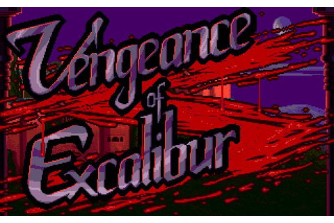 Vengeance of The Excalibur Download (1991 Role playing Game)