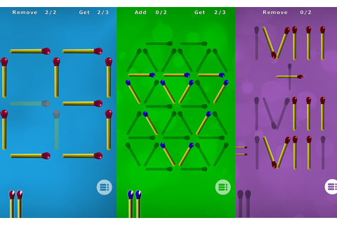Matches Puzzle Games - Android Apps on Google Play