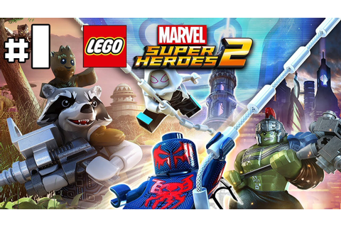 Lego Marvel Super Heroes 2 - Let's Play 1 [FR] - YouTube