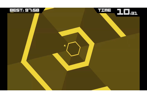 Super Hexagon [Game Review] - YouTube