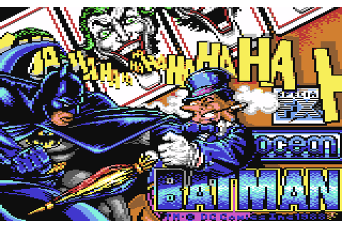 Batman: The Caped Crusader (1988) by Special FX for C64