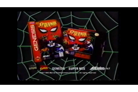 Spider-Man The Animated Series video game commercial ...
