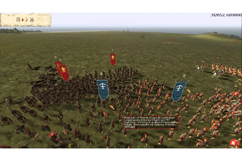 Rome: Total Realism Gameplay - Phalanx and Legionaries ...