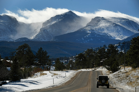 Speeding drivers surprised to see Rocky Mountain National ...