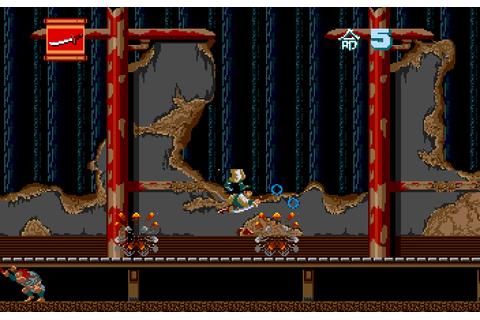 Ninja Spirit (1990) by Irem PCE game