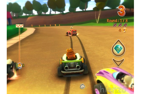 Garfield Kart Game Free Download For PC | Hienzo.com