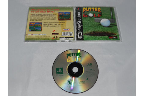 Putter Golf Sony Playstation PS1 Video Game Complete ...