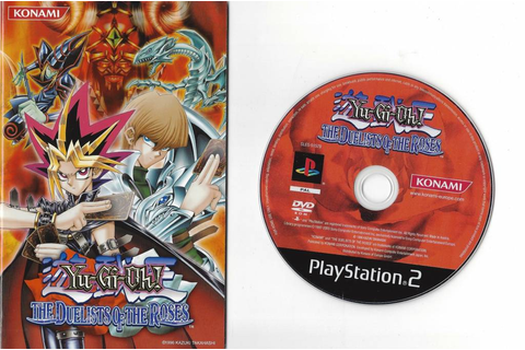 Yu-Gi-Oh The Duelists of the Roses for Playstation 2 PS2 ...