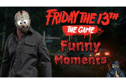 Friday the 13th: The Game *Funny Moments* (Fails, corpse ...