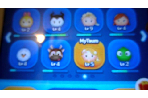 Disney Tsum Tsum Game Collection - YouTube