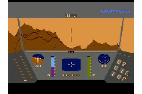Atari XL/XE - Rescue on Fractalus [Lucasfilm Games] 1985 ...