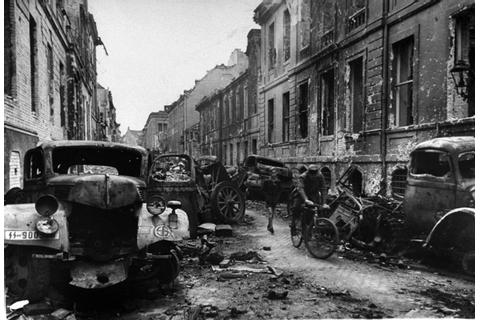 Some pictures of Berlin after the war. Via... - LEGACY-OF