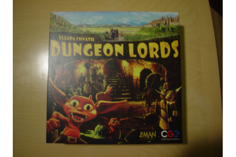 Board Games for One: Dungeon Lords