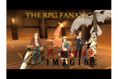 RPG Fanatic: Shin Megami Tensei IMAGINE Online MMO Video ...