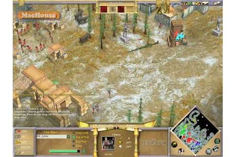 Age of Mythology: The Titans – Game Play Video Part 1 ...