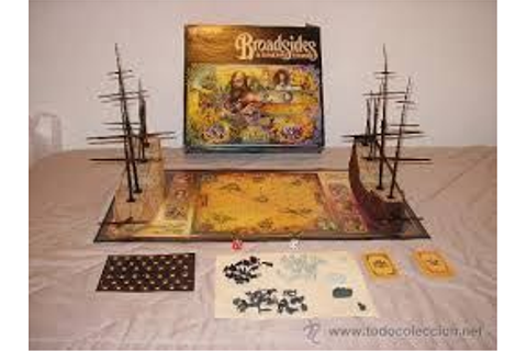 Broadsides & Boarding Parties, the classic MB board game ...