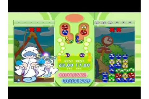 Puyo Puyo fever 2 it's Halloween time! part 2 - YouTube