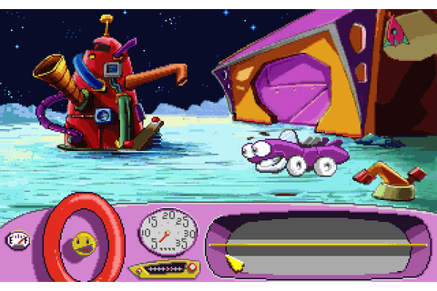 Play Putt Putt Goes to the Moon online - PlayDOSGames.com