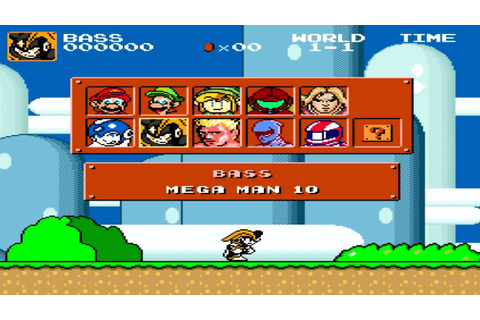 Super Mario Bros Crossover Version 2.1 Overview - YouTube