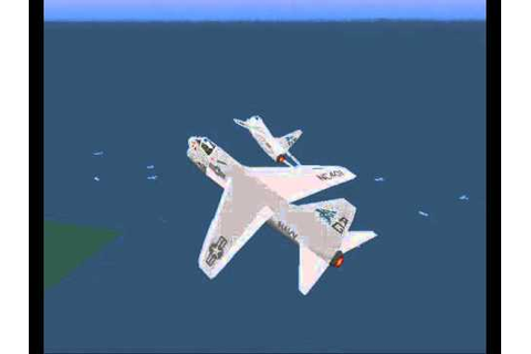 U S Navy Fighters Gold DOS For Old-Games.RU - YouTube