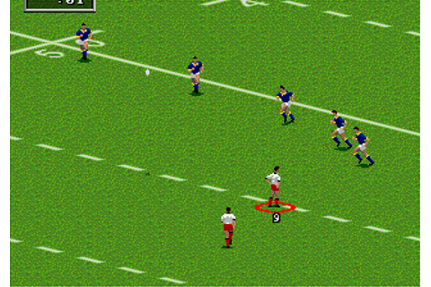 Play Australian Rugby League Sega Genesis online | Play ...