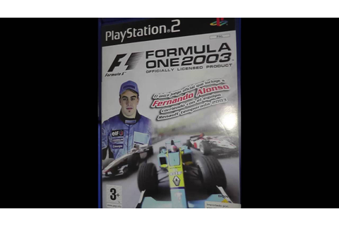 PS2 PAL Euro Game Lot Formula One 2003 Collection 7 ...