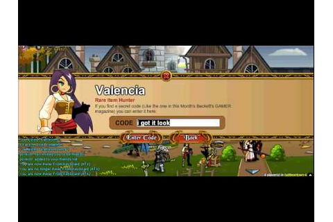 Adventure Quest World codes 2012 - YouTube