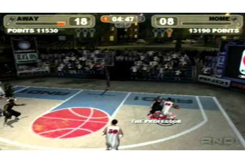 And1 Streetball game 1 part 1 - YouTube