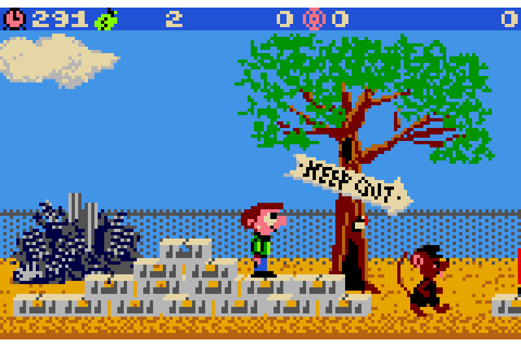 Scrapyard Dog (1991) by Creative Software Designs Lynx game