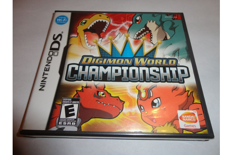 Digimon World Championship (Nintendo DS, 2008) NEW DSL DSI ...