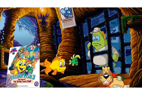 Freddi Fish 3: The Case of The Stolen Conch Shell (Full ...