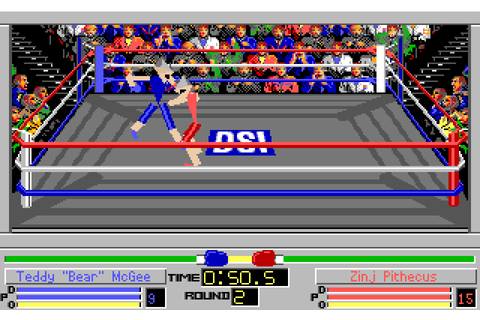 4D Sports Boxing - The Company - Classic Amiga Games