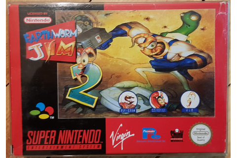 Earthworm Jim 2 - Super Gaby Games