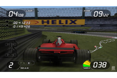 Formula One 2001 PS2 Gameplay HD - YouTube