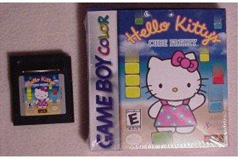 Anime Video Games Reviews: Hello Kitty's Cube Frenzy ...