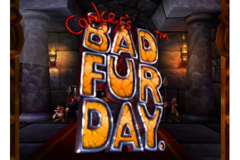 Game: Conker's Bad Fur Day [Nintendo 64, 2001, Rare] - OC ...
