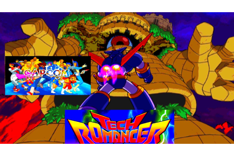 Tech Romancer - Arcade Mech Battle Game (Capcom 1998 ...