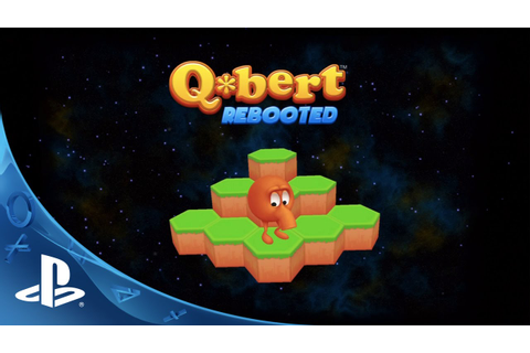 Q*Bert: Rebooted Trailer | PS4, PS3, PS Vita - YouTube