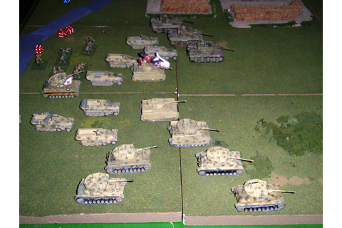 An Eastern Front 1:72 game being played on June 17 at ...