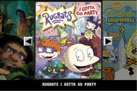 3 in 1 - Rugrats, SpongeBob, Tak (E)(Independent) ROM