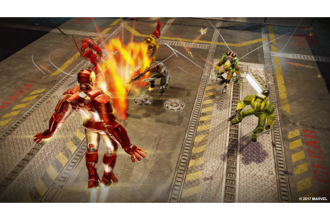 Marvel Strike Force is a mobile RPG coming in 2018