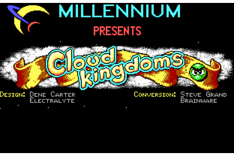 Cloud Kingdoms (1990) by Brainware MS-DOS game