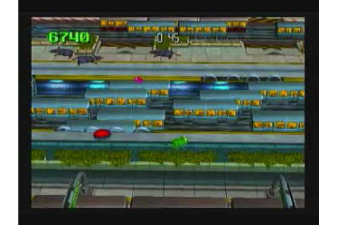 Frogger Returns Gameplay - YouTube