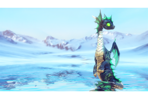 Little Dragon Sea by MalberS Animations in Characters ...