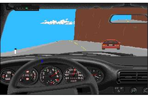 Test Drive Download (1988 Amiga Game)